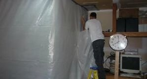 Water Damage Salem Sealing In Mold With A Vapor Barrier