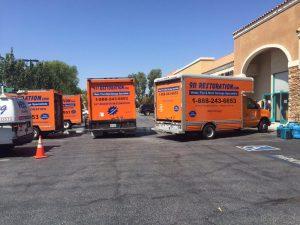 water-damage-restoration-vans-vehicles